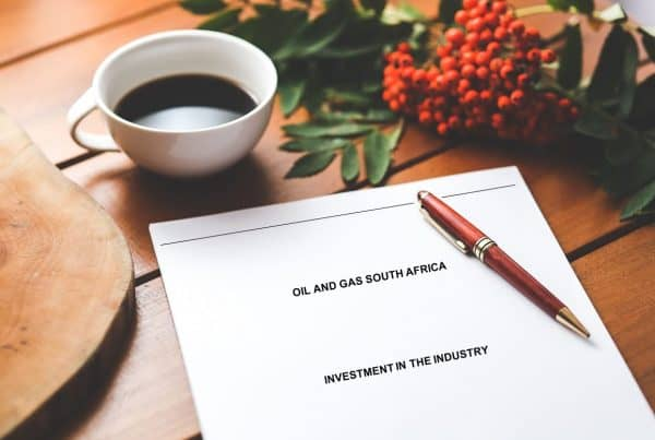 oil and gas south africa investment