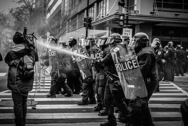 Police brutality lockdown