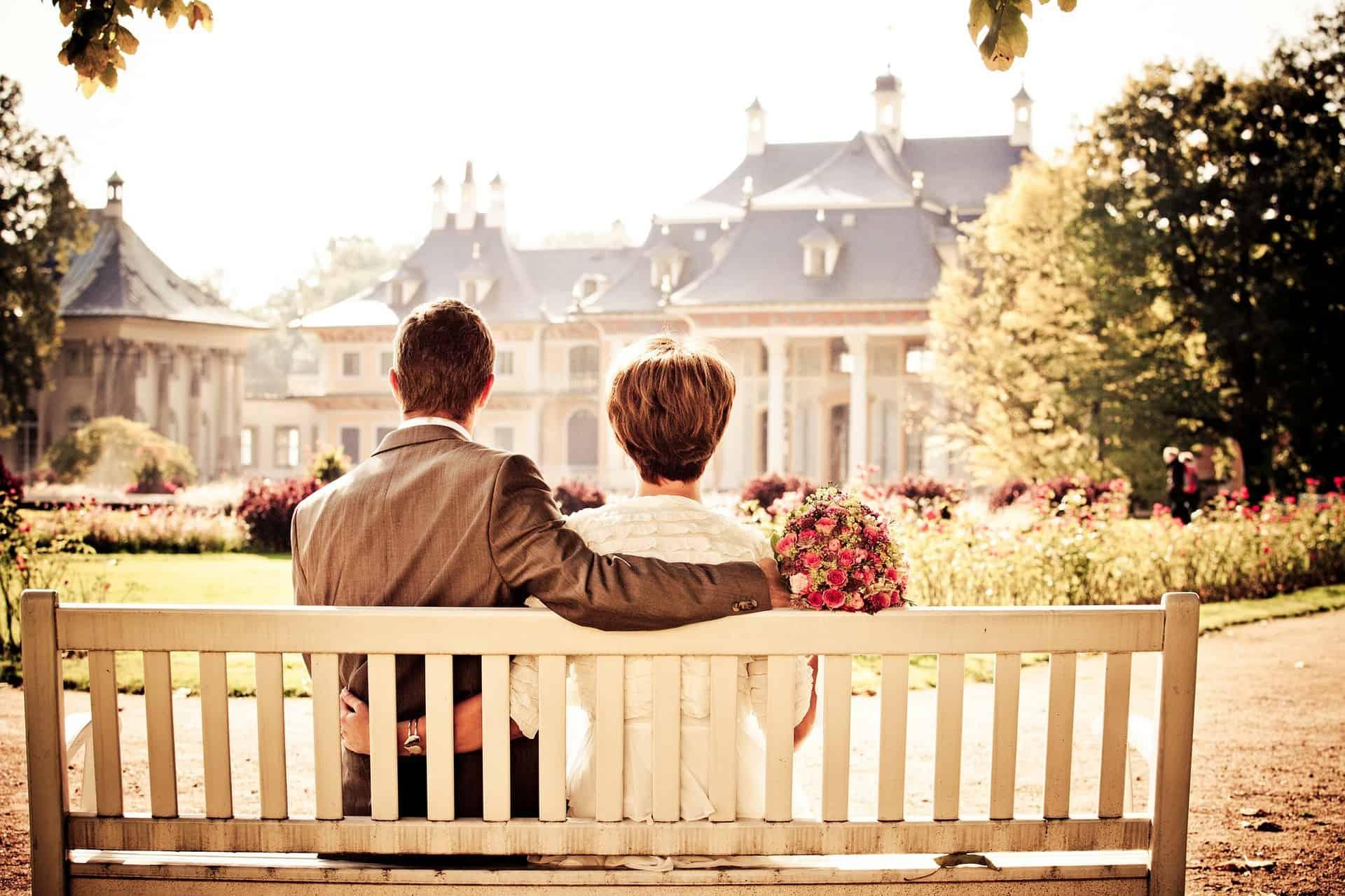 estate status change entering marriage